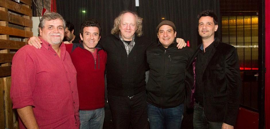 El jurado: Guillermo Blanco Alvarado, Rafael Nasta, Claudio Kleiman, Joaquín Lascano y Mariano Cardozo