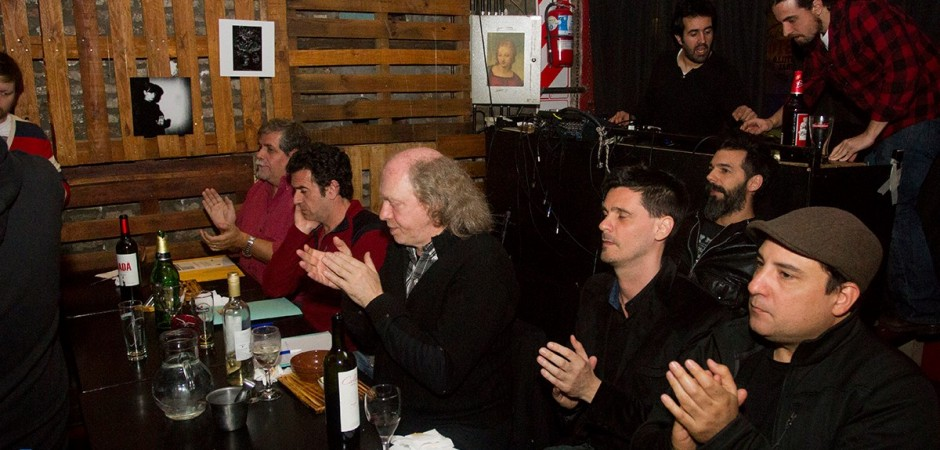 El jurado: Guillermo Blanco Alvarado, Rafael Nasta, Claudio Kleiman, Joaquín Lascano y Mariano Cardozo.