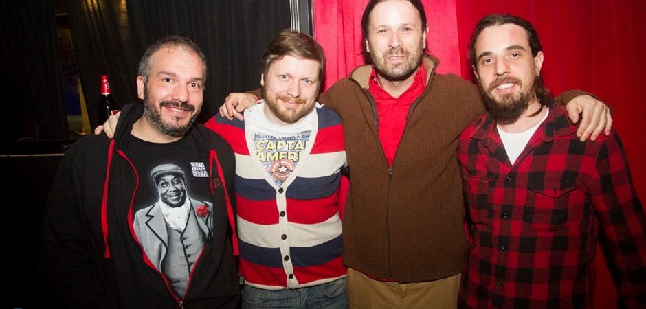 EDB y BEM: Mauro Diana, Gabriel Cabiaglia, Gabriel Grätzer y Lucas Gavin