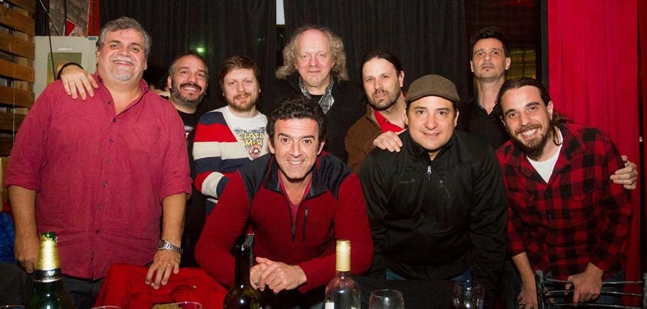 EDB y BEM con El jurado: Guillermo Blanco Alvarado, Rafael Nasta, Claudio Kleiman, Joaquín Lascano y Mariano Cardozo.