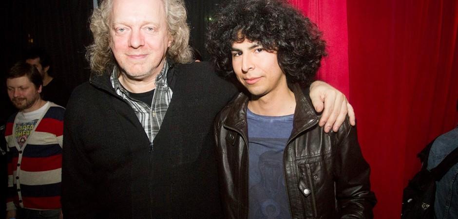 Claudio Kleiman con Leo Parra, ganador de la edición 2015.